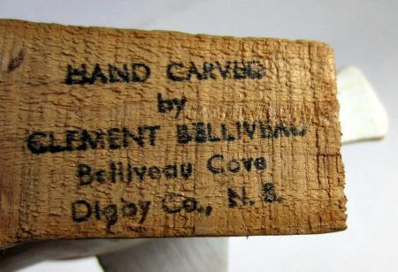 Clement Belliveau. His mark.