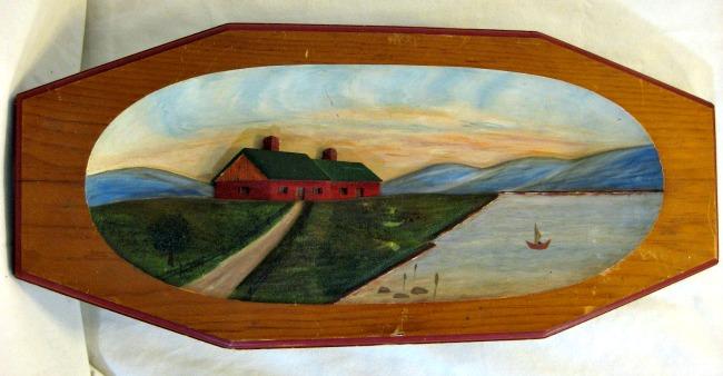 Joseph Roy. St. Jean, Quebec. Wood carver. Bas Relief.