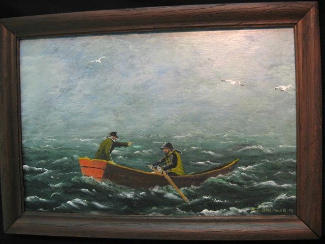 R. J. Bremner. Digby Nova Scotia. The Dory.
