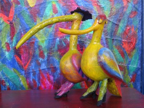 Two Birds by Danielle Samson. St-IIois, Quebec.