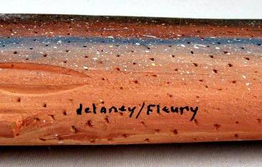Delany/Fleury. Bic, Quebec. Their mark.