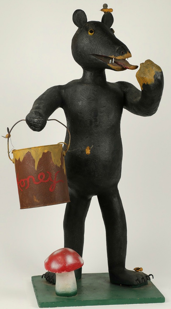 Ewald Rentz. A Bear with his Lunch Pail.