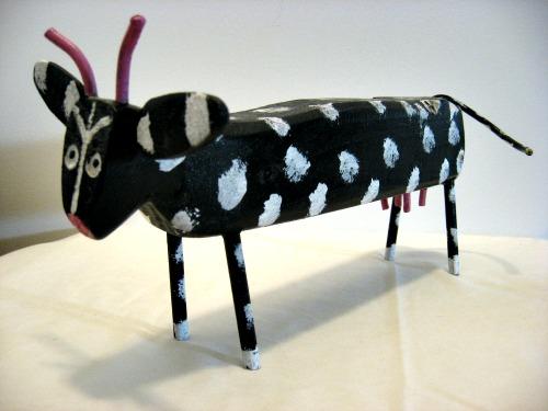 Cow by J M Poirier, Cheticamp, N. S.