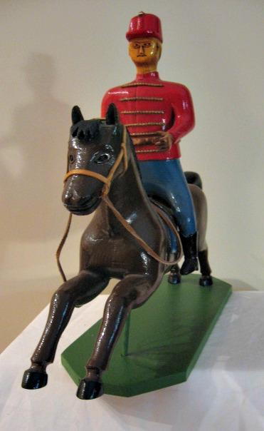 Valere Marquis. Marieville, Quebec. Circus Rider.