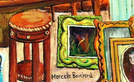 Marcelle Bouchard. Her mark.
