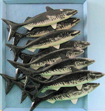 Jim Tracy. A School of Mackeral.