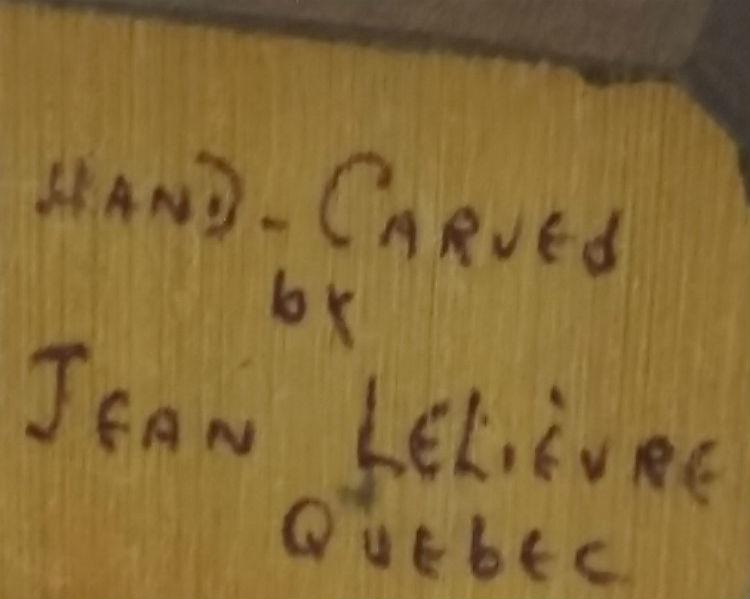 Jean Lelievre. Fisherman. The Mark.