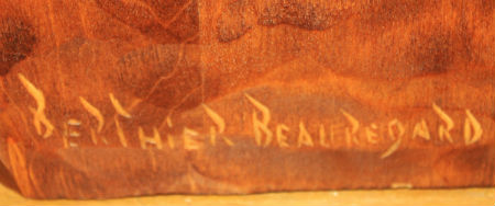 Berthier Beauregard His mark