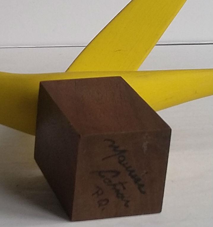 Maurice Cotnoir. Quebec. Yellow Bird. The Mark.